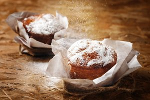 Fresh Baked Homemade Muffins