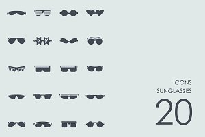 Sunglasses icons