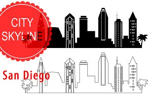 San Diego vector city