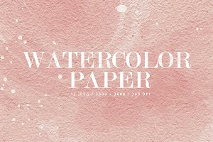12 Watercolor Papers - Part 2