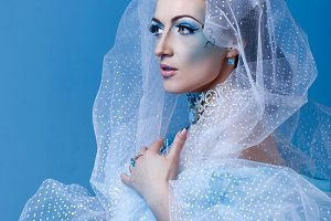 Snow Queen. Christmas creative