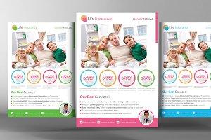 Life Insurance Flyer Template