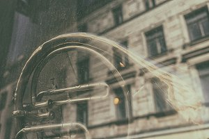 French horn in a glass house