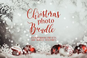 Christmas Lightroom Presets+Textures