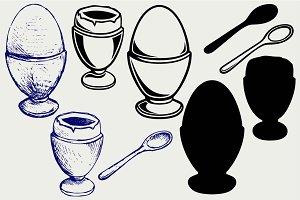 Aristocratic eggs SVG