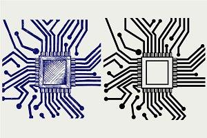 Microchip SVG