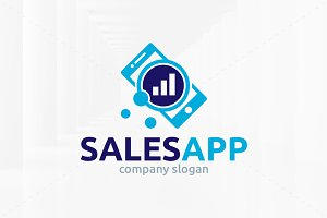 Sales App Logo Template