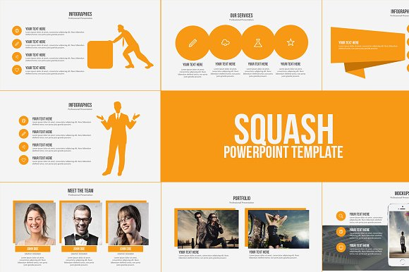 powerpoint templates free download squash powerpoint template presentation templates on 24036 | preview
