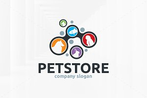 Pet Store Logo Template