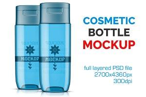 Clear Cosmetic Bottle Mockup Vol. 15