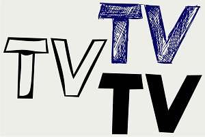 TV icon SVG