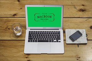 MacBook Air Mockup 2