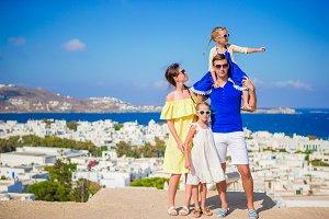 Family european vacation