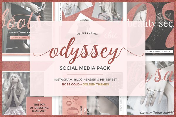 ODYSSEY Social Media Pack