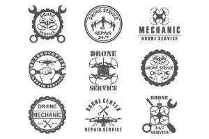 drone  emblems