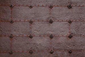 Metallic door texture