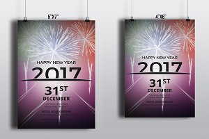 New Year Party Flyer -V453