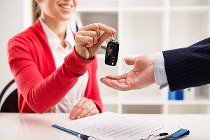Car loan concept