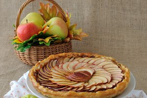 open apple pie