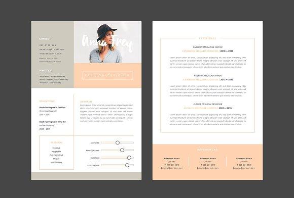 resume 10 a4 keynote format resumes - Keynote Resume Template