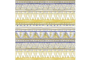 pattern Ethnic seamless vector