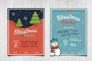 Cute christmas invitations