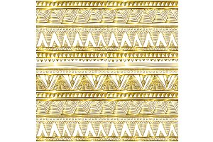 seamless gold glitter pattern vector