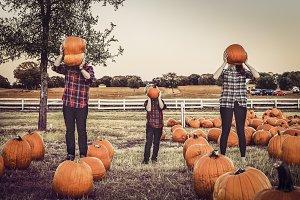 Pumpkin Head People