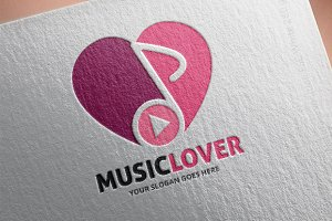 Music Lover Logo Template