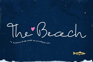 The Beach Script Font
