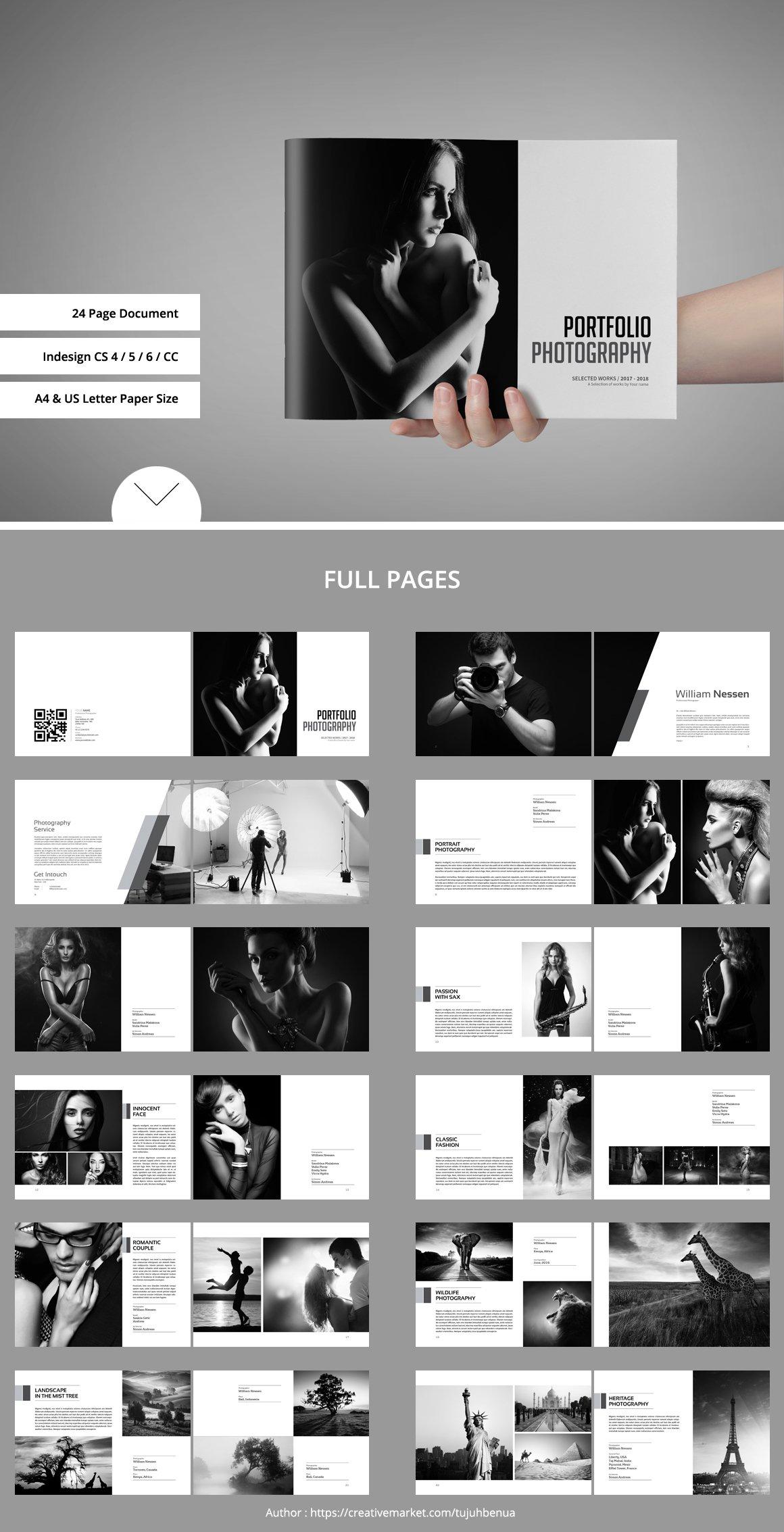 Portfolio / Photobook ~ Brochure Templates ~ Creative Market