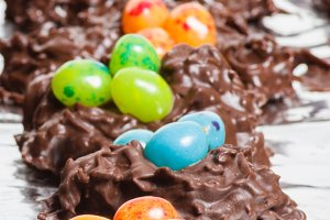 Chocolate candy for Easter