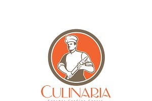 Culinaria Cooking Course Logo
