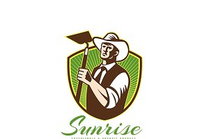 Sunrise Organic Farm Produce Logo
