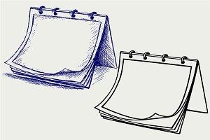 Open notepad SVG