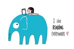I Like Reading Everywhere