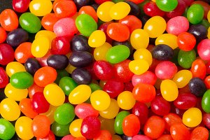 jelly beans for background
