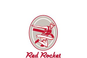Red Rocket Sports Tonic Logo