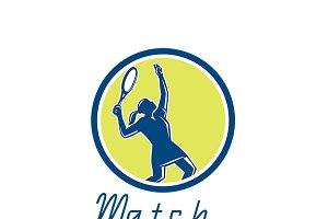 Match Tennis Equipment Logo