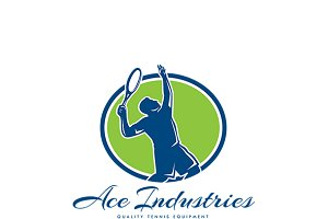Ace Industries Tennis Equipments Log