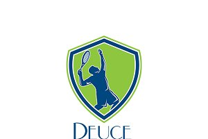 Deuce Tennis Coaching Logo
