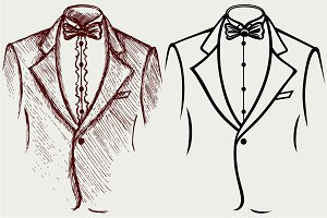 Men suits SVG