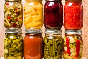Fresh preserved food