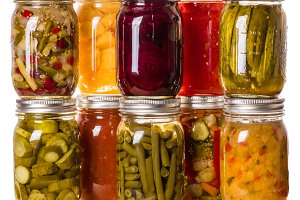 Preserves and pickled vegetables