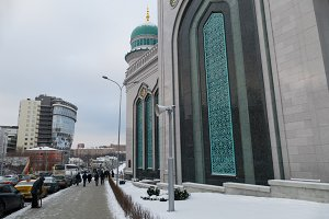 Moscow Cathedral Mosque, Russia -- the main mosque in Moscow,