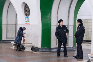 Moscow, 4 December 2016 in the subway -politsiya