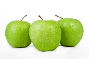 three green apple