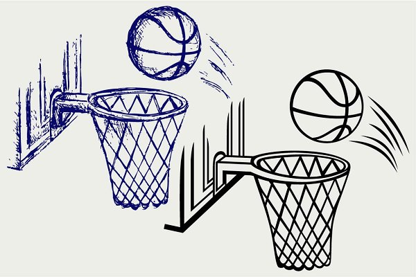 Basketball board SVG