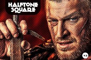 Halftone Square
