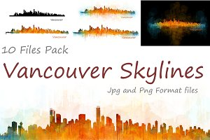 10xFiles Pack Vancouver Skylines